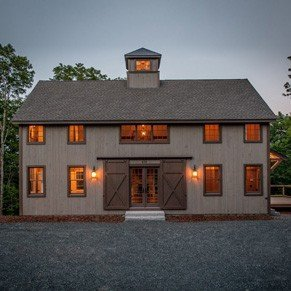 Post and beam home styles yankee barn homes Small barn style homes