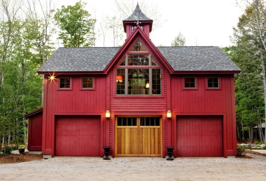 Apartment Gambrel Garage Plan Floor Plans: barn with apartment plans