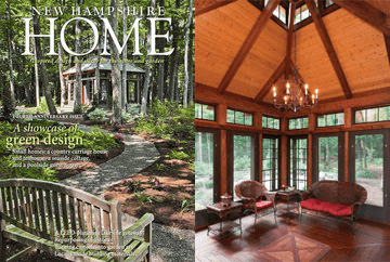 yankee barn homes is proud to be featured on the cover of the marchapril issue of nh home magazine the cover story features yankee barn homes visit new - New Home Magazines