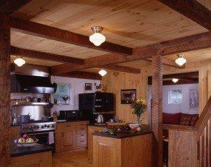 Barn Timber Frame Kitchen