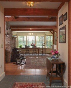 Interior Coastal Timber Frame
