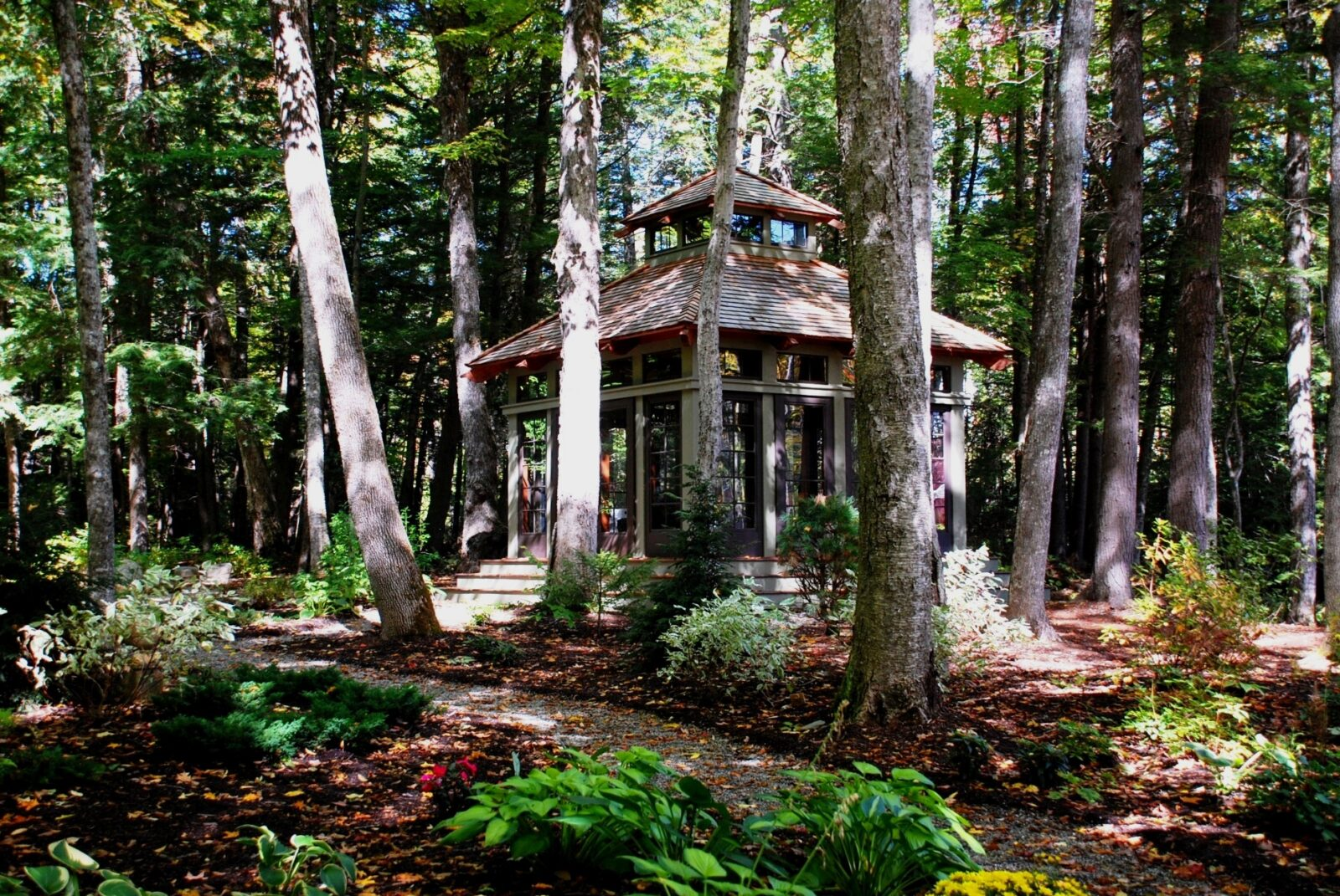Our Teahouse and Zen Garden Get The Cover of New Hampshire Home ...