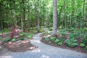 Our Zen Garden entrance.