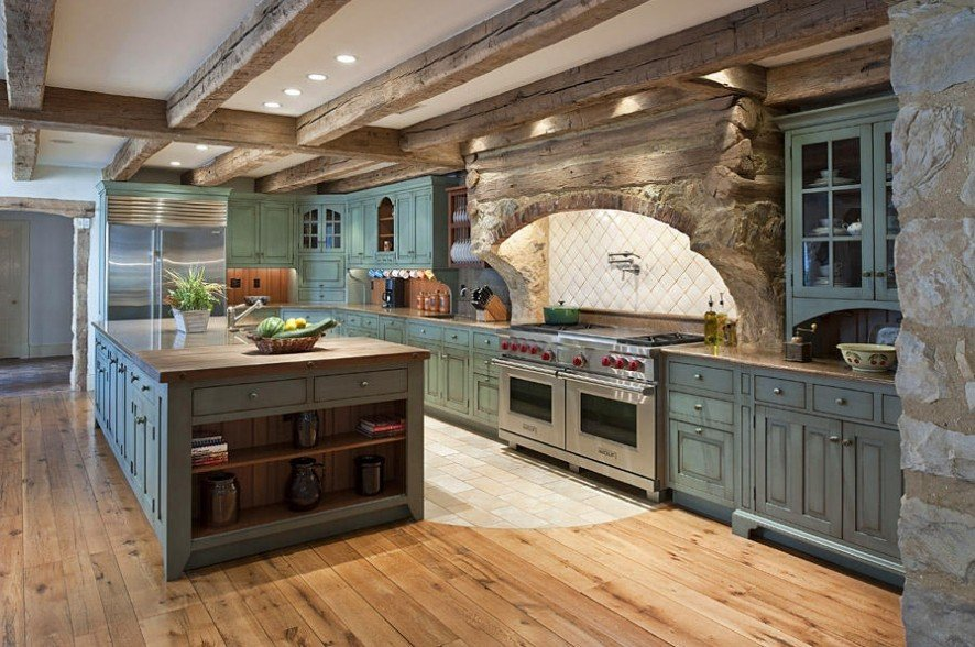Outstanding Rustic Farmhouse Kitchen Cabinets 886 x 588 · 442 kB · jpeg