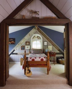 Barn Home bedroom