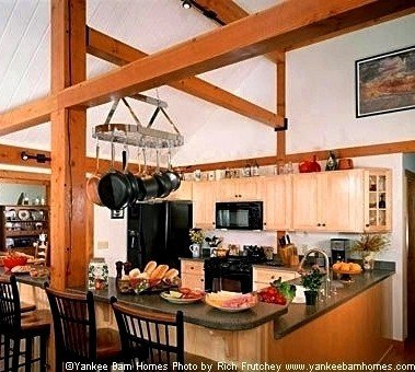 Cabins furthermore Attic Stairs as well 12 Metre Wide Home Designs as well How 5022887 build Deck Deck Blocks together with A Terriffic Post Beam Single Level Floor Plan By Yankee Barn Homes. on timber frame floor plans for homes