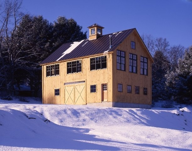 Building a carriage house in today 39 s economy for New england shed plans