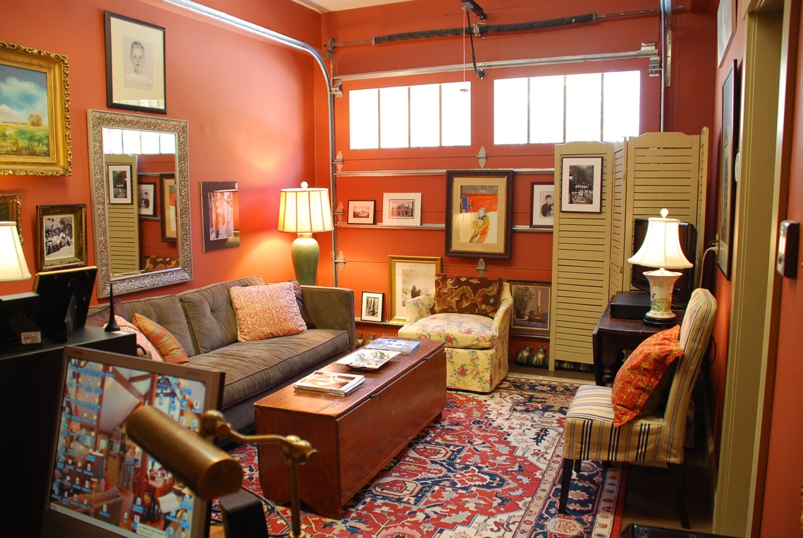 My carriage house first floor the man cave gets a makeover - Man cave ideas for small spaces collection ...