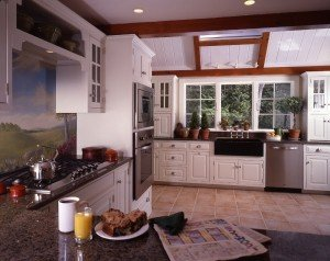 Post & Beam Gathering House Kitchen