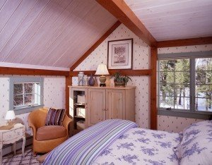 The guest bedrooms are equally beautiful.