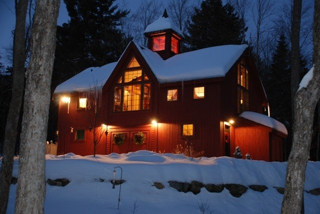 Chirstmas Carriage House Yankee Barn Homes