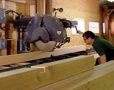 Timber frame line