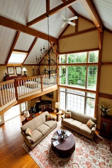 Yankee barn homes tips for choosing the right interior for Barn loft homes