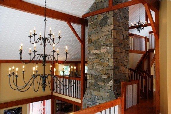 Interior Lighting For Barn Homes From Yankee Barn Homes