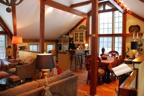 Interior Lighting For Barn Homes From Yankee