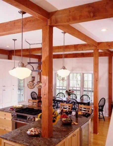 Five suggestions to lower building costs from yankee barn for Post and beam homes cost