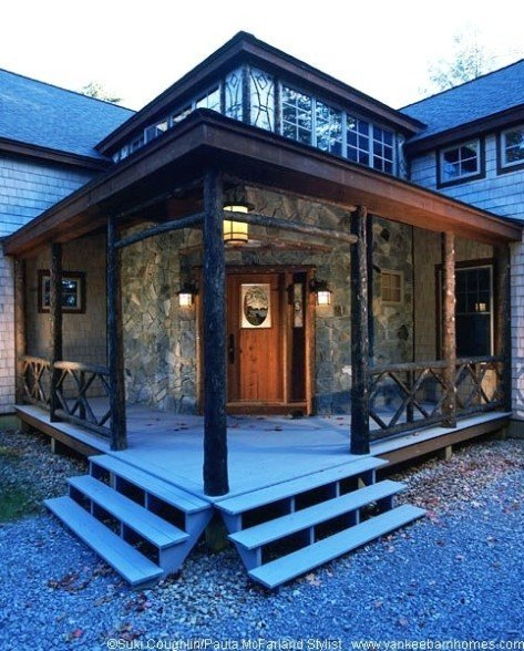 Yankee barn homes unlimited architectural styles for Barn style houses