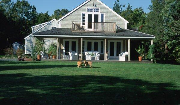 One Yankee Barn Homes Cottage Plan: Two Interpretations