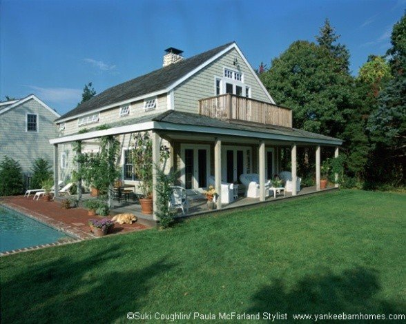 One Yankee Barn Homes Cottage Floor Plan With Two