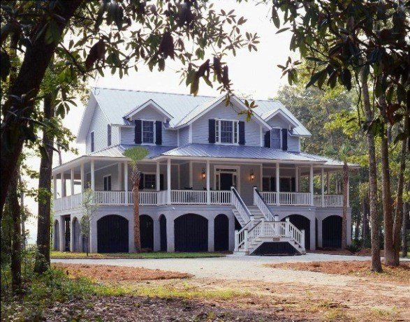 Yankee barn homes architecture style options for South carolina home builders