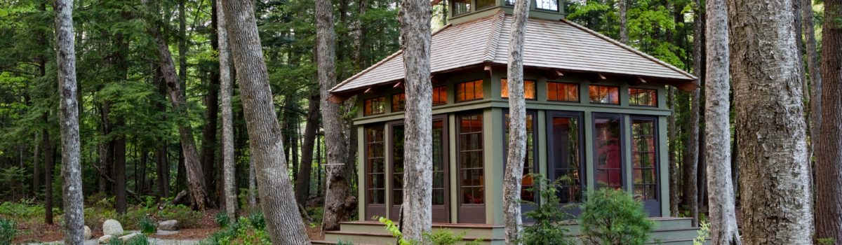 Our Yankee Barn Tea House As Tai Chi Studio
