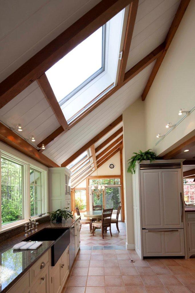 Kitchens Yankee Barn Homes