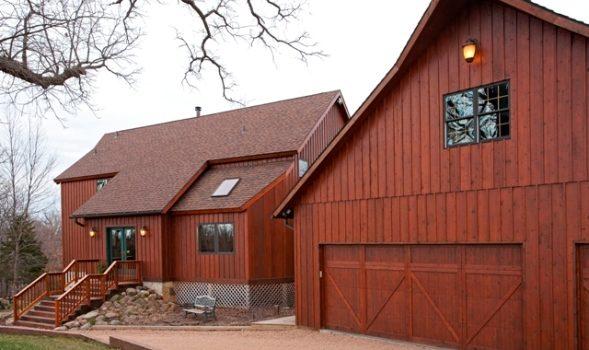 A Minnesota Yankee Barn Home