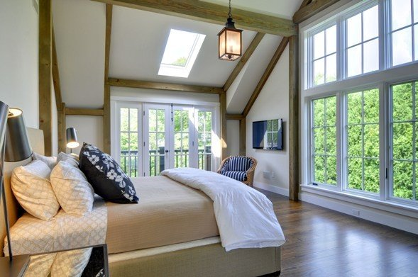 . Barn home master bedroom styles in this photo filled blog post