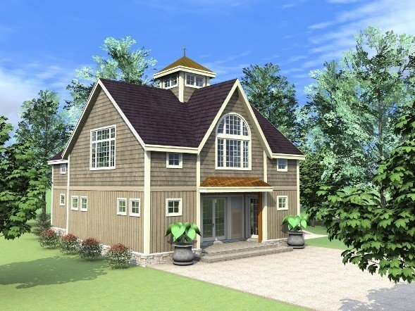 A new style carriage house the beacon by yankee barn homes for New barn homes