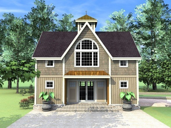A new style carriage house the beacon by yankee barn homes for Modular carriage house