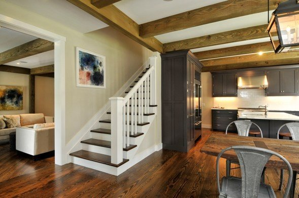 Barn house staircase ideas complete with photos - Stairs in home ...