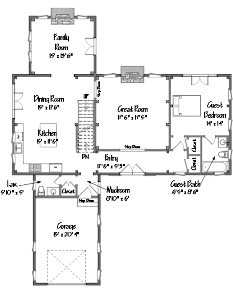 Post And Beam Floor Plans That Work