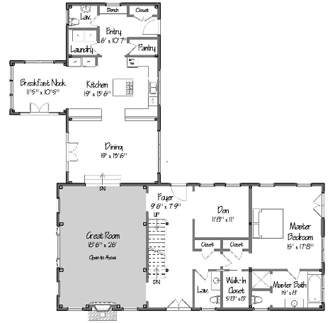 Post and beam floor plans that work for Post and beam floor plans