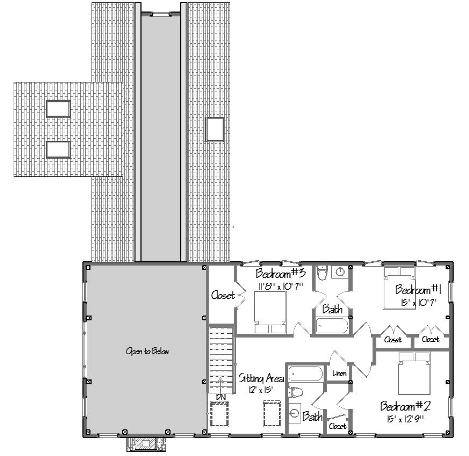 Post and beam floor plans that work The laurels floor plan
