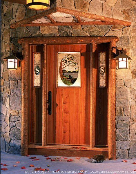Lodge Style Doors : Exterior doors for barn homes see photos and get ideas here