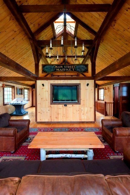 Post And Beam Game Rooms From Yankee Barn Homes