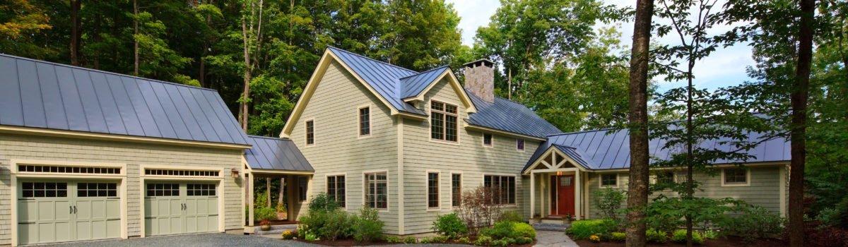 One Barn House Plan, 3 Unique Interpretations: Great Room