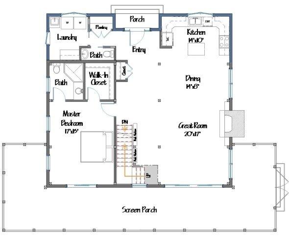 barn house plans - House Plans Barn