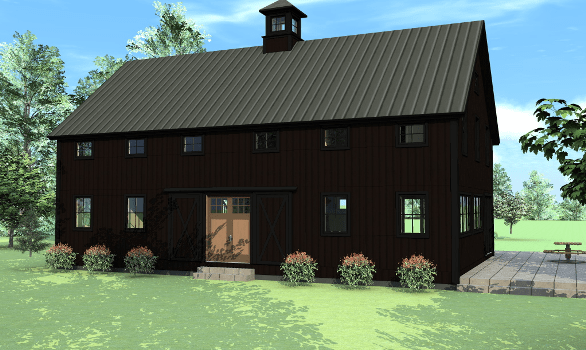 Barns And Barn Homes: The Beauty Of Black