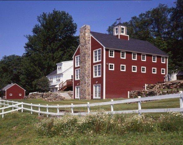 barn home addition