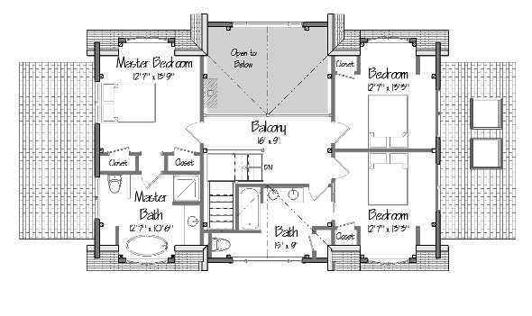 Center hall colonial floor plans gurus floor for Colonial floor plans open concept