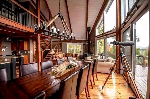 Houzz And Yankee Barn Homes Equal Post Beam Paradise
