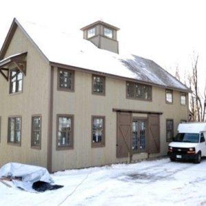 New England Barn Yankee Barn Homes