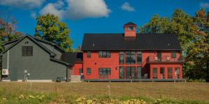 New England Contemporary Barn Home