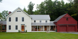 Timber Frame Farmhouse Custom Home
