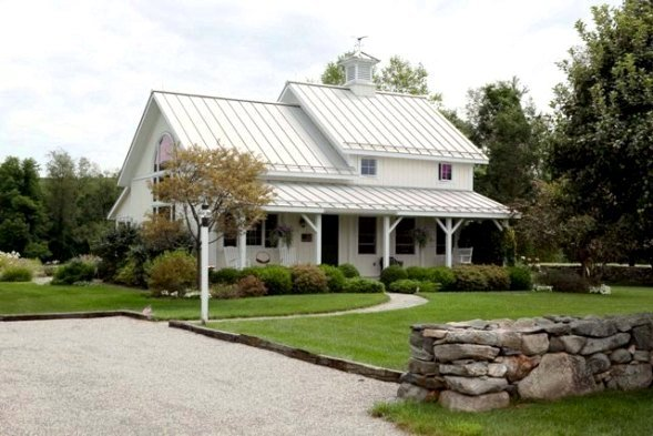 Small barn house plans for Metal building farmhouse plans