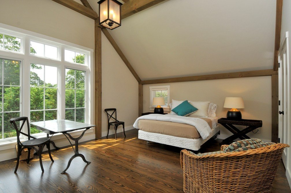 East Hampton Barn Home Bedroom