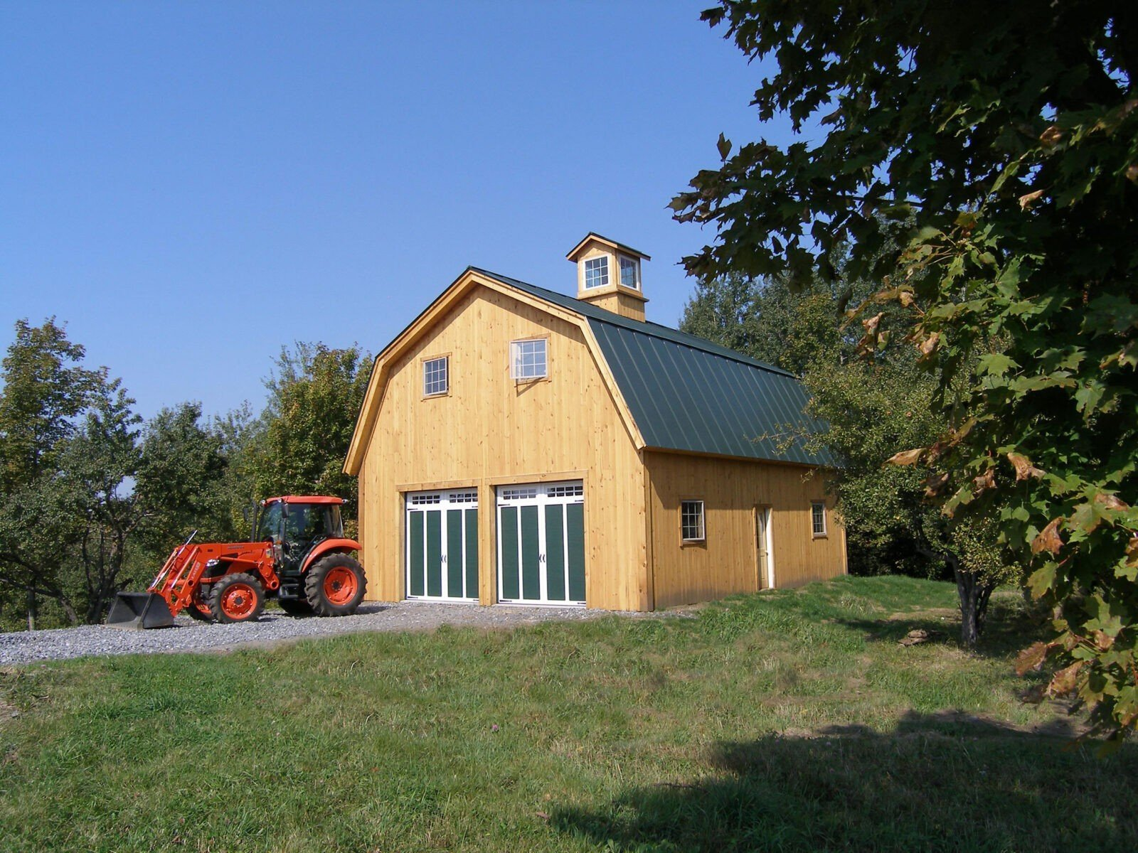 Gambrel barn yankee barn homes for Gambrel shed
