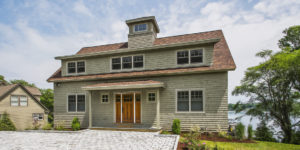 Shingle Style Lakeside Cottage