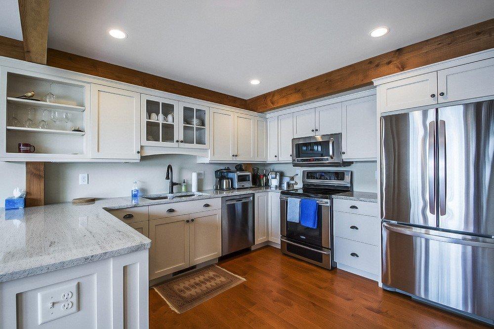 Lakeside Cottage Timber Frame Kitchen